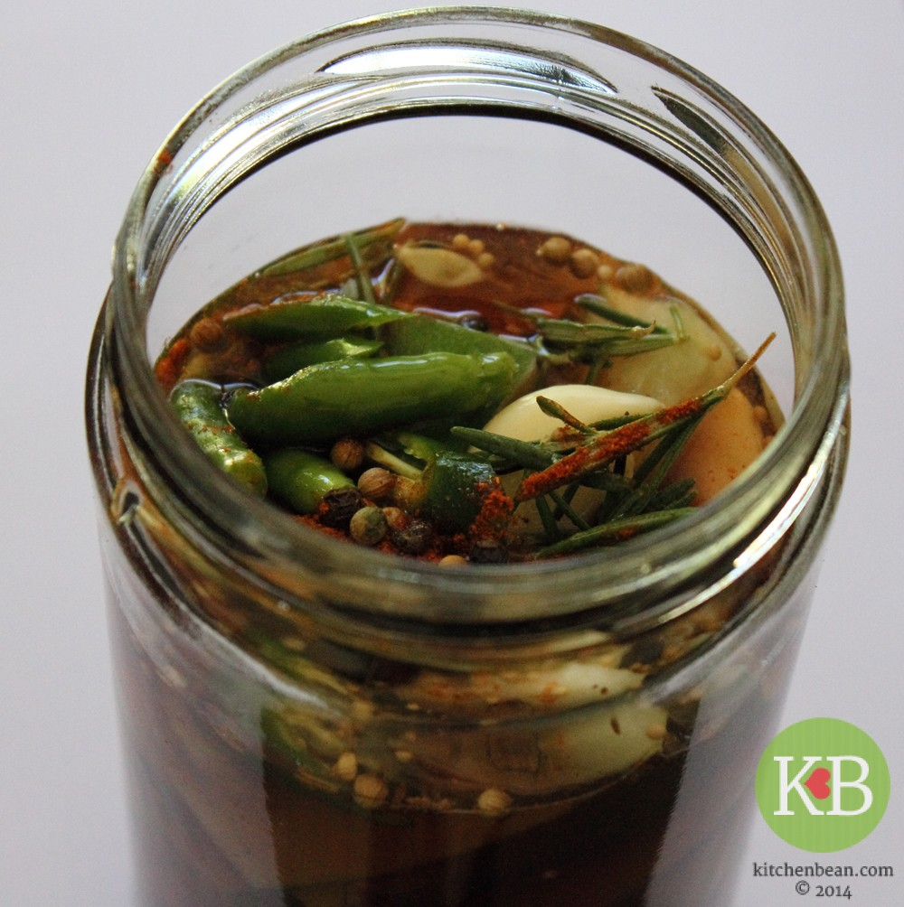how to make cucumber pickle in vinegar
